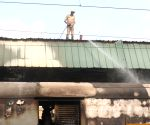 Fire at New Delhi railway station
