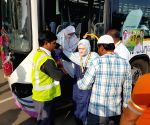 Departure of first batch of Haj pilgrims