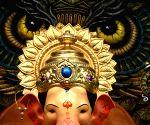 First look of Ganesh idol at Lalbaugcha Raja