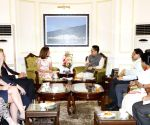 UK Minister meets Rijiju