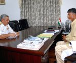 Vice Admiral Satish Soni calls on Andhra CM