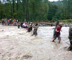 Jammu and Kashmir: flood affected