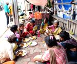 Food distributed among the poor
