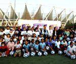 Football Delhi starts 'Gift A Ball' drive for poor girls