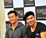Varun Dhawan and Baichung Bhutia shoot Ponds Men ad