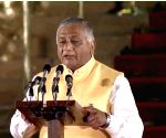 V. K. Singh takes oath as Union Minister