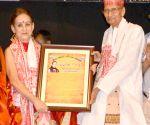 Indira P P Bora felicitated