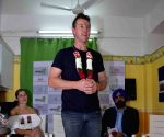 Brett Lee during a programme