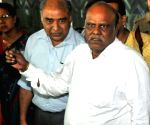 Justice Karnan arrives at Kolkata Airport
