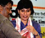 Anjum Chopra felicitated on 31st Abhiruchi Sports Day