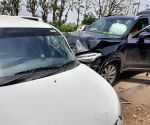 Free Photo:  Haryana: Former CM Chautala's vehicle meets with accident