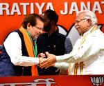 Congress' Arvind Sharma joins BJP