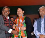Krishna Tirath joins BJP