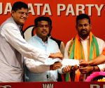 Prakash Chandra Behera joins BJP