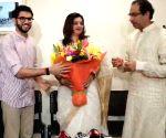 Priyanka Chaturvedi joins Shiv Sena