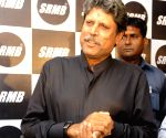 Kapil Dev during a product launch