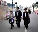 Attari (Punjab): Paramjit Singh Sarna, Harvinder Singh Sarna return from Pakistan