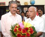 Vishveshwara Hegde Kageri files nomination for the post of Karnataka Assembly Speaker