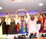 Mahachandra Prasad Singh of HAM-S, Congress' Binod Sharma join BJP
