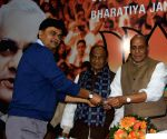 Rajnath Singh welcomes former bureaucrats who joined BJP