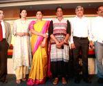 Asian Athletics Championship - press conference - PT Usha, Anju Bobby George, Adille Sumariwalla