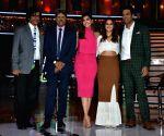 "Launch of cricket and comedy show of ""Dhan Dhana Dhan"" - Kapil Dev, Samir Kochhar, Archana Vijaya, Shibani Dandekar and Sunil Grover"