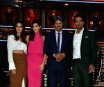 "Launch of cricket and comedy show of ""Dhan Dhana Dhan"" - Kapil Dev, Samir Kochhar, Archana Vijaya and Shibani Dandekar"