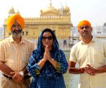 Nirmal Kaur visits Golden Temple