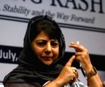 Mehbooba seeks separatist leader's release on humanitarian ground
