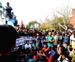 Kanhaiya Kumar protest against ABVP