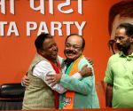 TMC's Sovan Chatterjee joins BJP