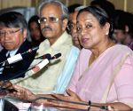 Former Lok Sabha Speaker Meira Kumar at an event