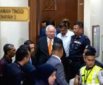Convicted ex-Malay PM called out for tall tales in court