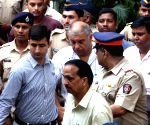 Peter Mukerjea produced at CBI Court