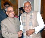 Pranab Mukherjee meets Bihar CM