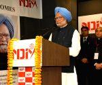 NDIM's convocation - Manmohan Singh