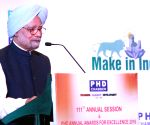 Manmohan Singh at the 111th Annual Session of PHD Chamber of Commerce and Industry