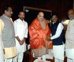 TRS' G. Vivekanand joins BJP