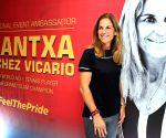 Arantxa Sanchez Vicario's press conference