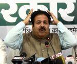 Rajiv Shukla's press conference
