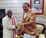 BJP leader Bandaru Dattatreya meets Vice President Venkaiah Naidu