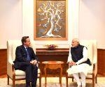 David Cameron calls on PM Modi