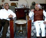 M K Narayanan meets Keshari Nath Tripathi