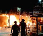 Free Photo: Four garment shops gutted in Gurugram fire