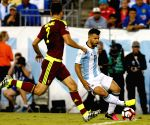 US FOXBOROUGH SOCCER COPA AMERICA QUARTERFINAL ARG VS VEN