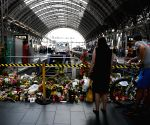 GERMANY FRANKFURT MAIN STATION BOY DEATH CONDOLENCE