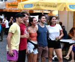 GERMANY-FRANKFURT-APPLE WINE FESTIVAL