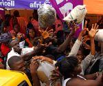 SIERRA LEONE FREETOWN MUDSLIDES AFTERMATH