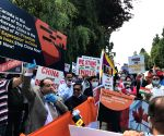 Friends of India' protest demanding release of detained Canadians in China