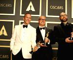 U.S.-LOS ANGELES-OSCARS-BEST ANIMATED FEATURE FILM